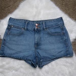 ❄Old Navy High Rise Jean shorts 8❄
